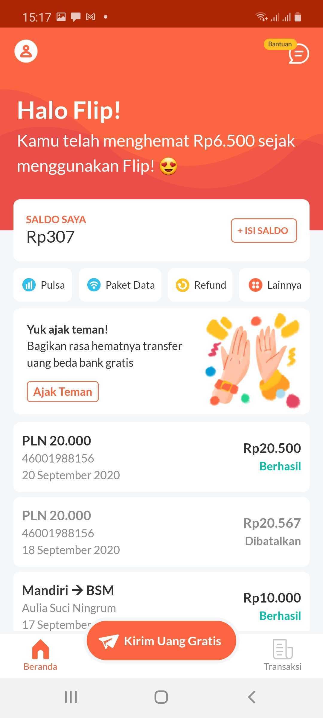 Cara Transfer Gratis Antar Bank Menggunakan Aplikasi